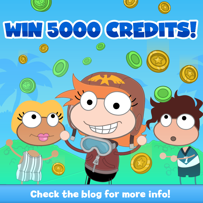Win 5,000 credits!