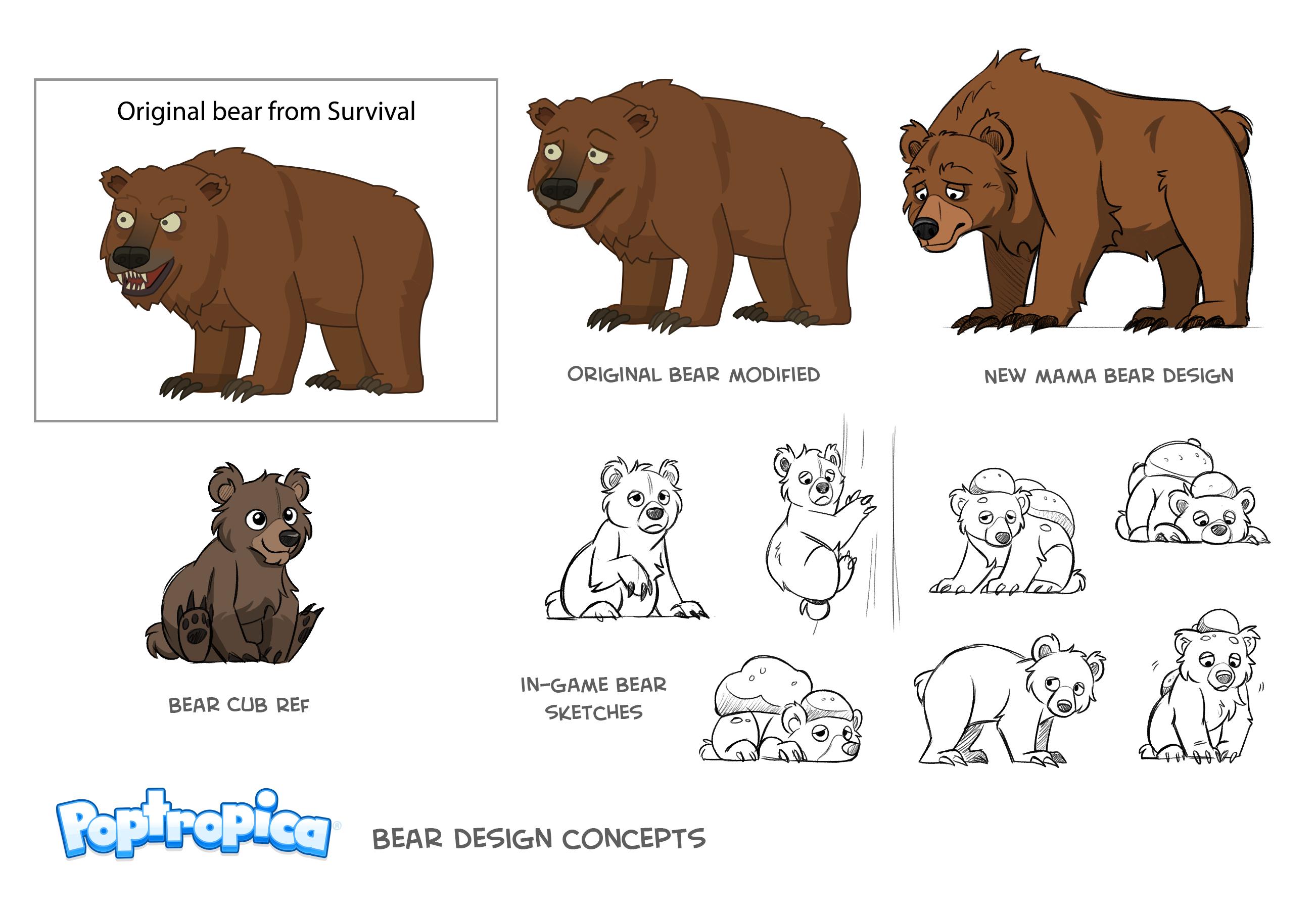 Bear Concept Art