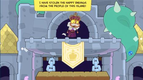 He has stolen the happy endings!