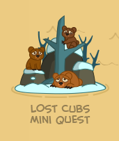 Lost Cubs Mini Quest on map