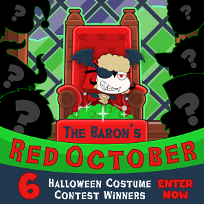 The Baron's Red October costume contest