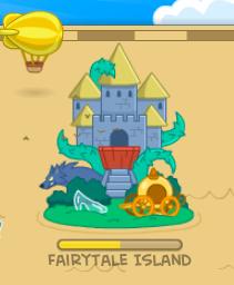Fairy Tale Island Map