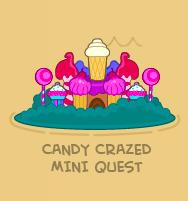Candy Crazed Mini Quest Map Icon