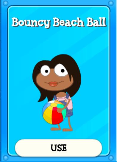 Bouncy Beach Ball