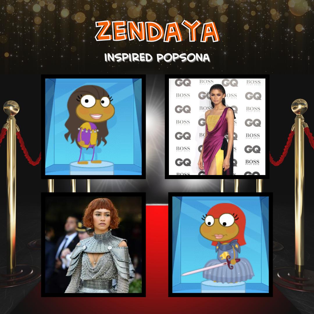Zendaya Inspired Popsona