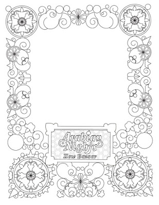 Poptropica's Coloring Pages - Arabian Nights 4