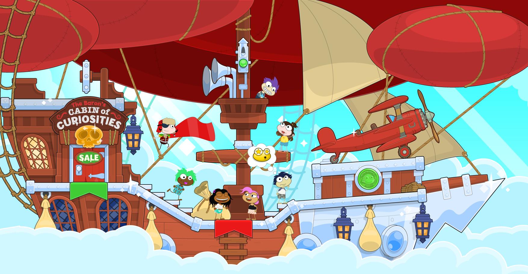 It's a bird! It's a plane! It's the Baron!