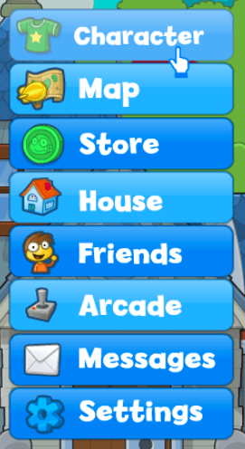 Character Screen Icon