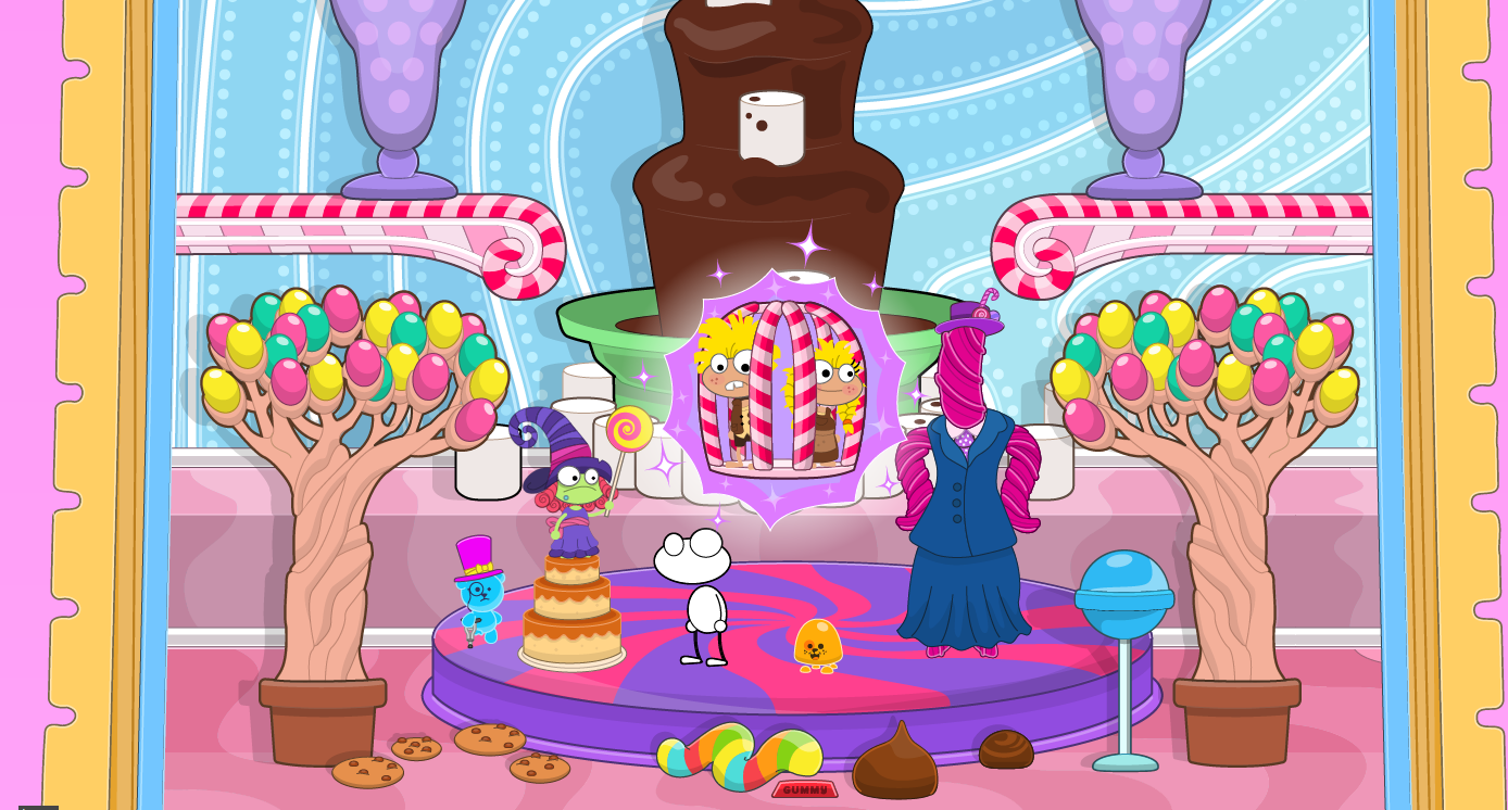 Candy Crazed Characters