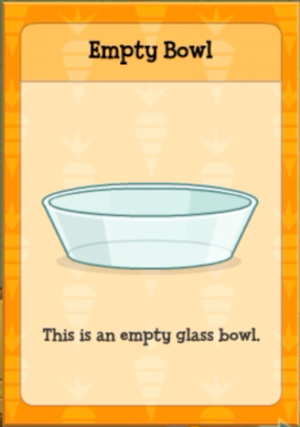 Empty Bowl item