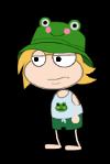 Frog Buckets Costume