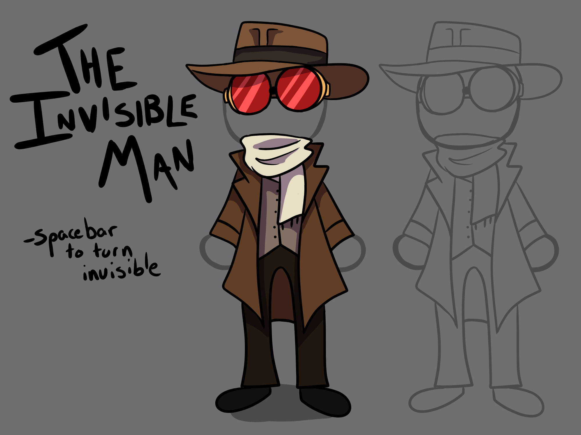 The Invisible Man by Gentle Carrot