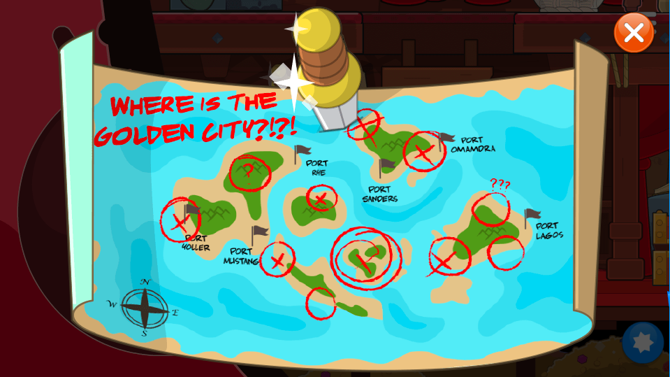 Where is the Golden City?