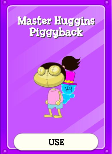Master Huggins Piggyback