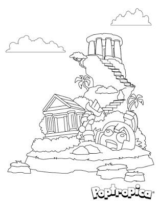 Poptropica Coloring Page 3