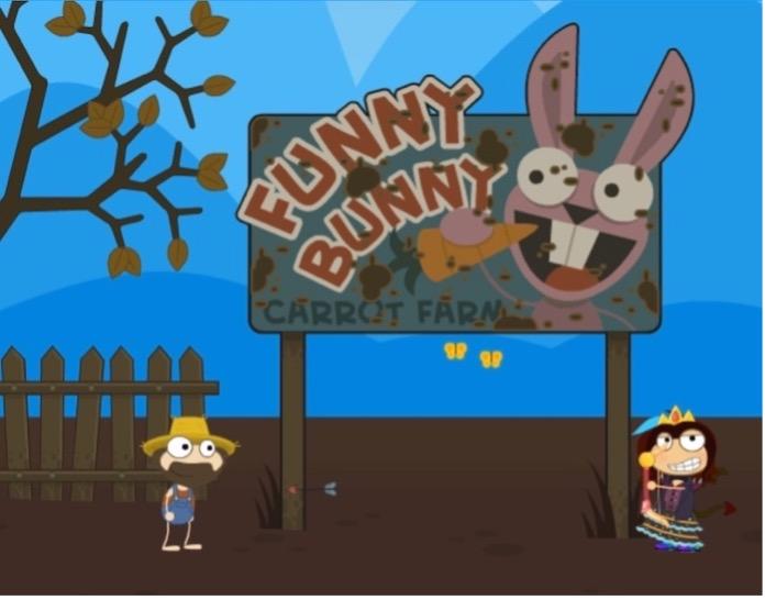 Funny Bunny Carrot Farm on 24 Carrot Island