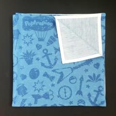 Folded bandana