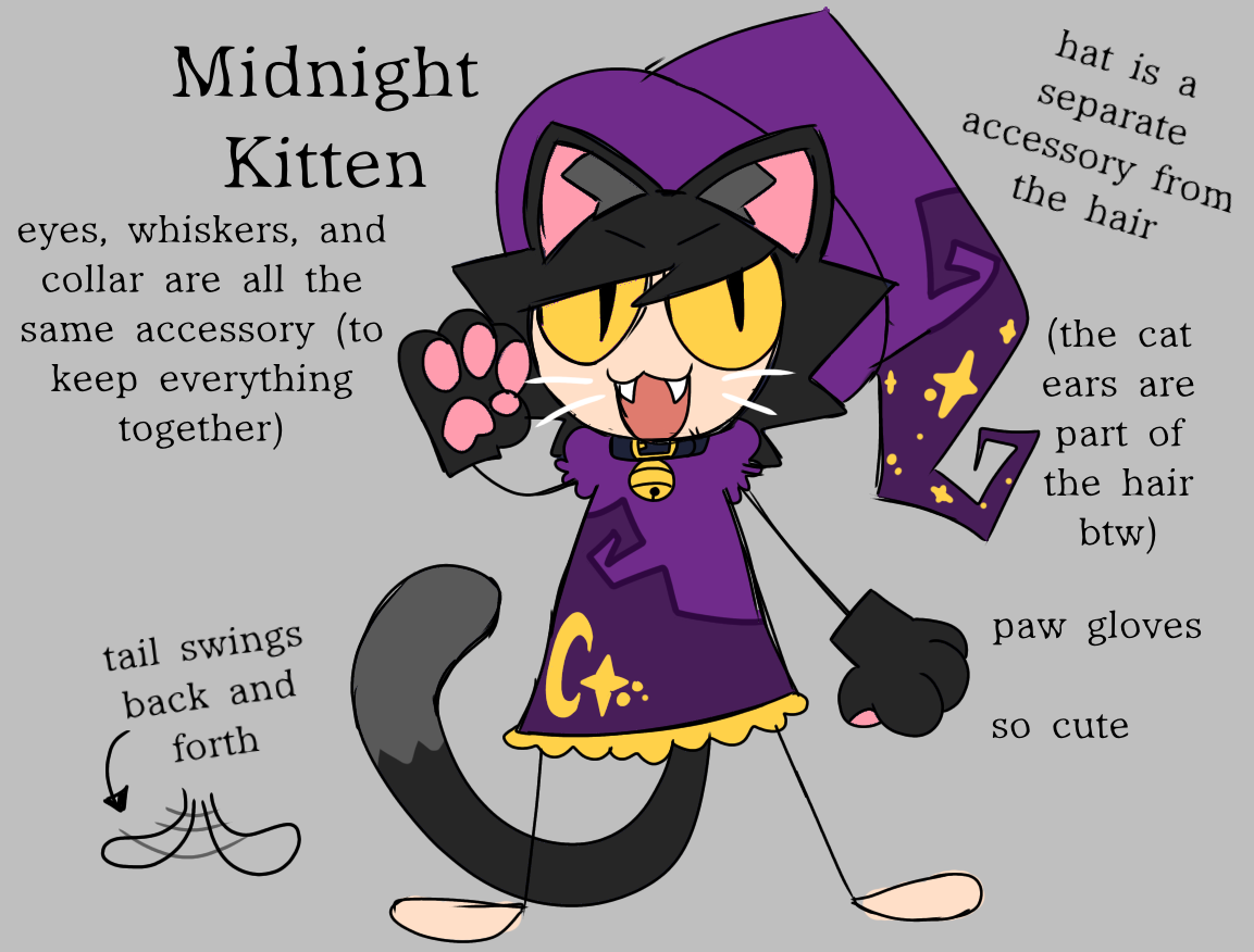 Midnight Kitten by Quiet Crumb
