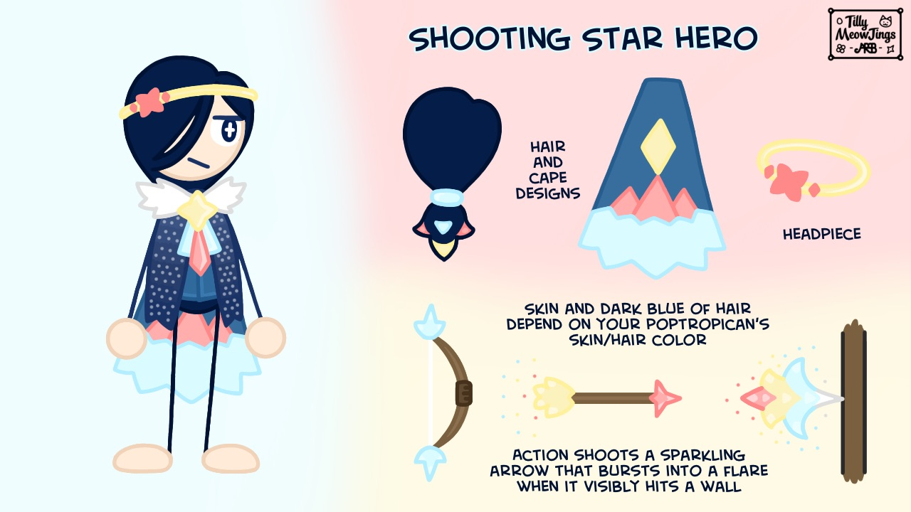 Shooting Star Hero by Red Toes
