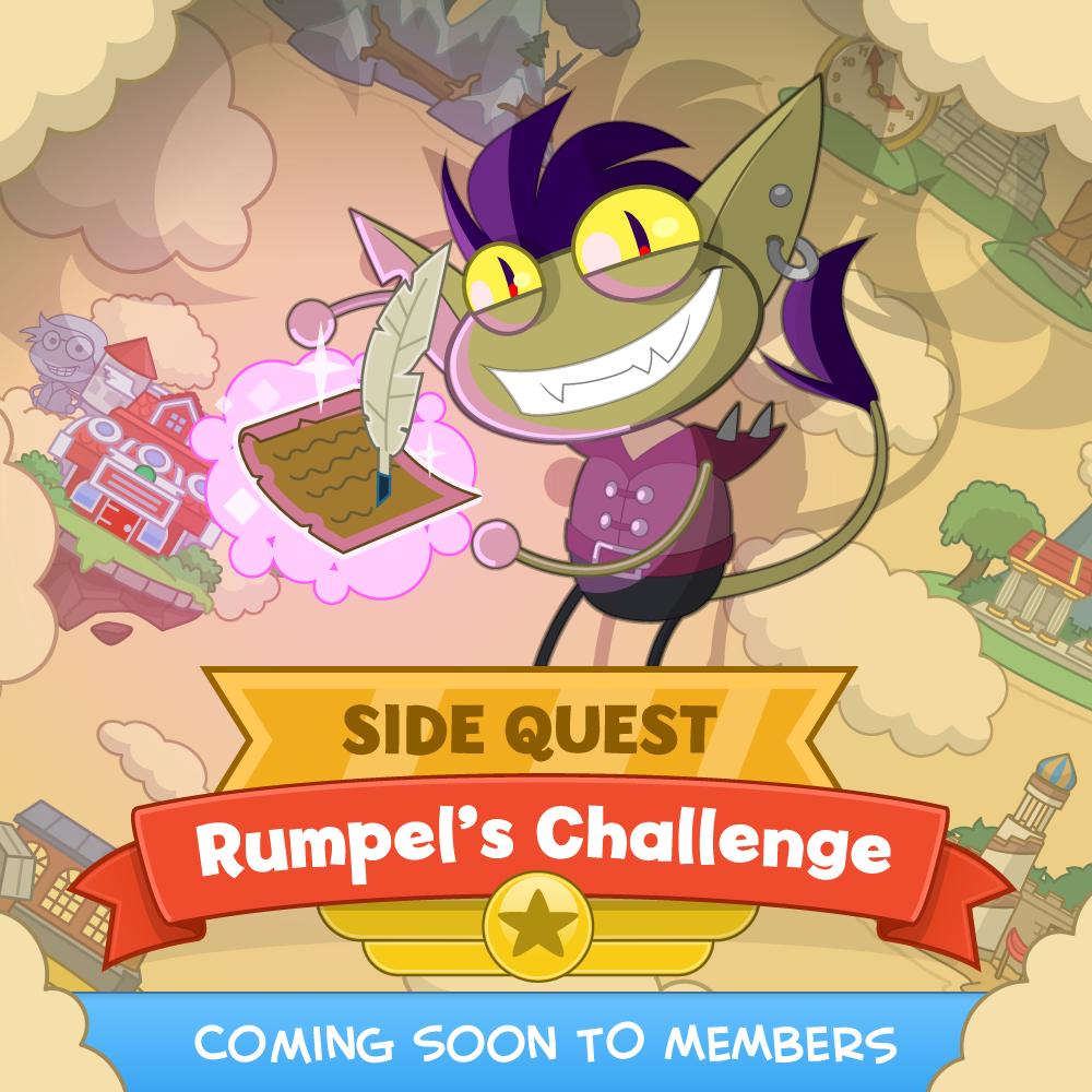 Rumpel's Challenge Side Quest