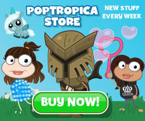 Poptropica February Store Promotion